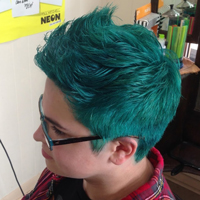 full color pixie